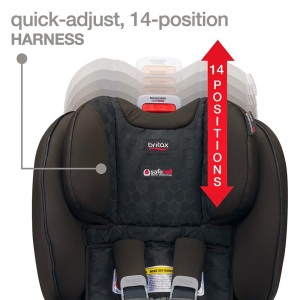 The Shoulder Height Of Boulevard ClickTight Can Stretch Up To 1865 While Rear Or Forward Facing And Your Childs Ear Tips Need Be Beneath
