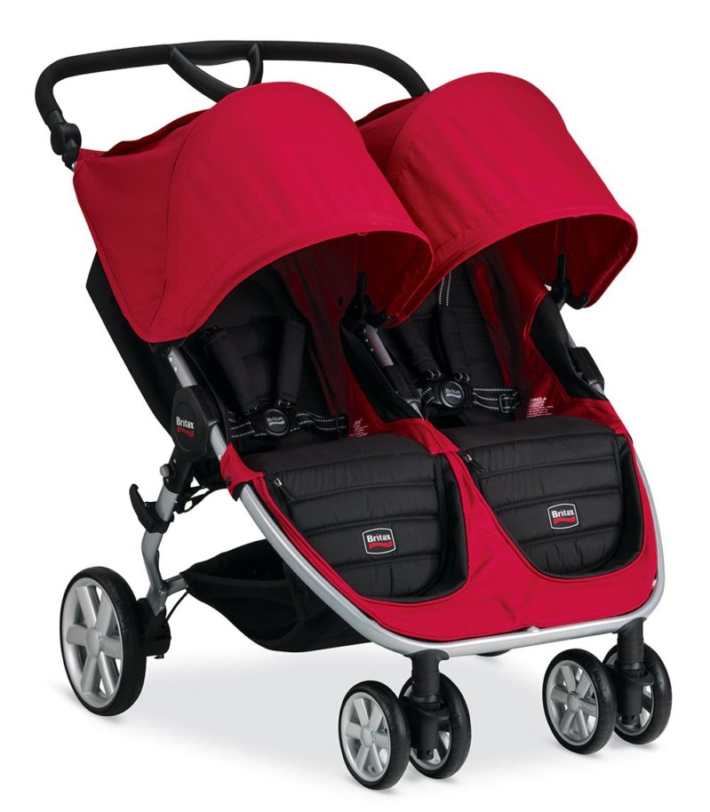 Britax B-Agile Double ~ MSRP $, Sale Price $ Weight: 26 lbs It used to be that these strollers were very comparable and we had a tough time picking a favorite, but now that the B-Agile is no longer car seat compatible, our top pick is the City Mini double.