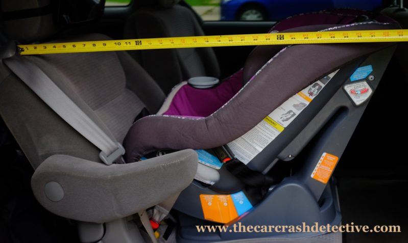 The best rear facing convertible car seats for leg room