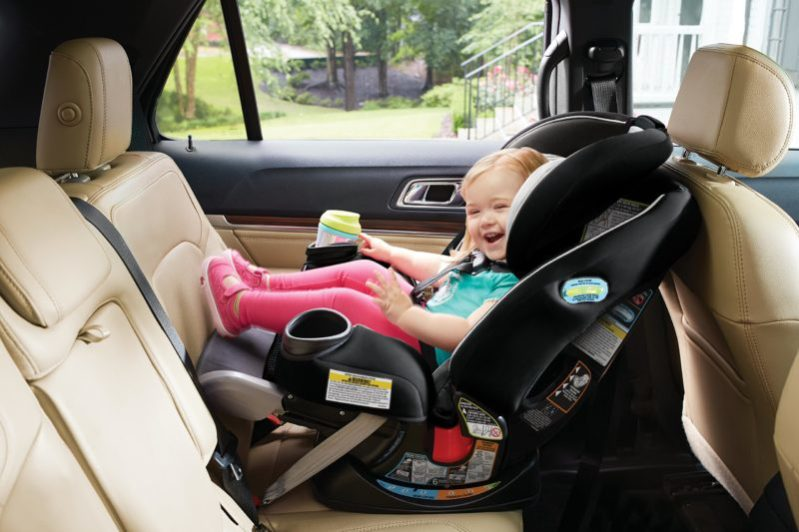 Graco Ever All In One Convertible Car Seat Crash Safety