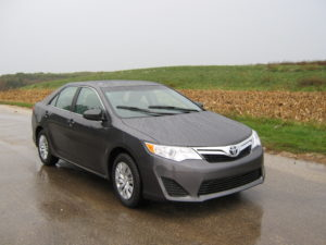 The Camry is one of the safest family cars you can buy today--it has good scores in every single area tested by the IIHS.