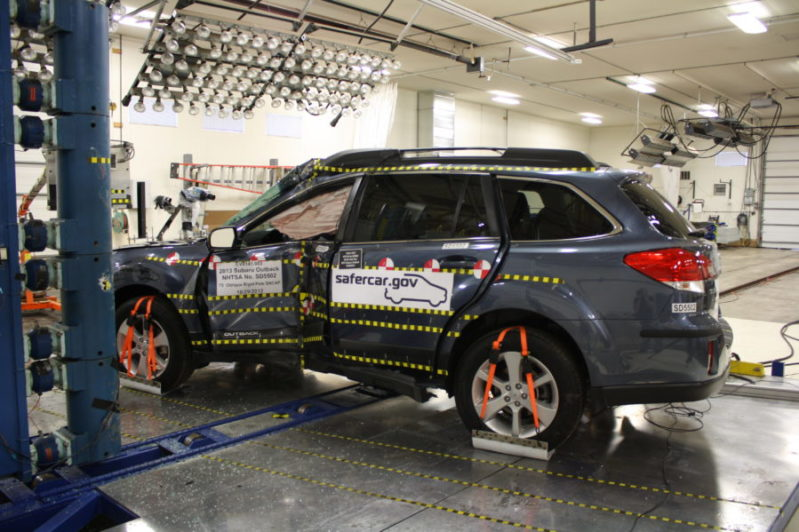 Per the IIHS' 2017 driver death rate math, a Subaru Outback isn't any safer than a Legacy or Forester--they're all just really safe vehicles.