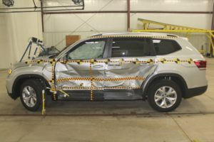 The 2018 Volkswagen Atlas might be the safest SUV ever made (to date) if you want to survive getting t-boned.