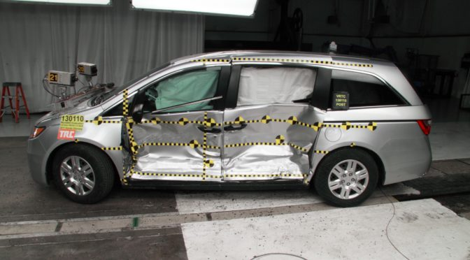 Minivan Safety Which Is Safer A Toyota Sienna Or Honda Odyssey Neither Per IIHS Driver Death Rates