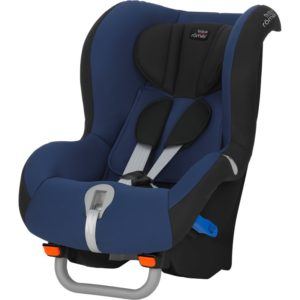 I recently reviewed the Britax Max-Way II (which rear-faces from 20-55 pounds) and compared it to US convertible seats. It's not that different from the best ones here.
