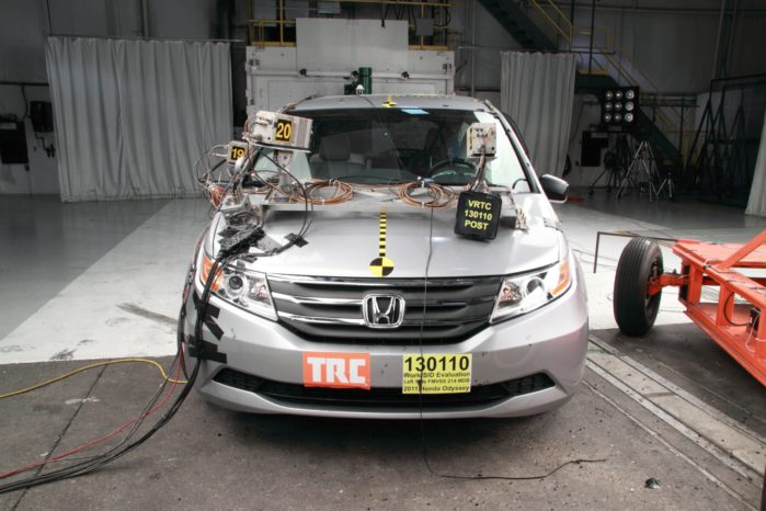 According to the IIHS' 2017 driver death rate calculations, a Honda Odyssey is no safer (or more dangerous) than a Toyota Sienna.
